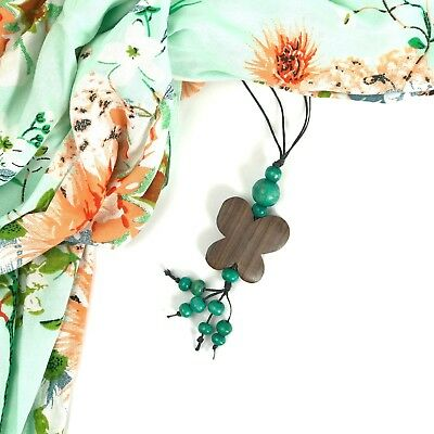 Butterfly Pendant NecklaceRed Orange Yellow Green CreamLongBead Tassel