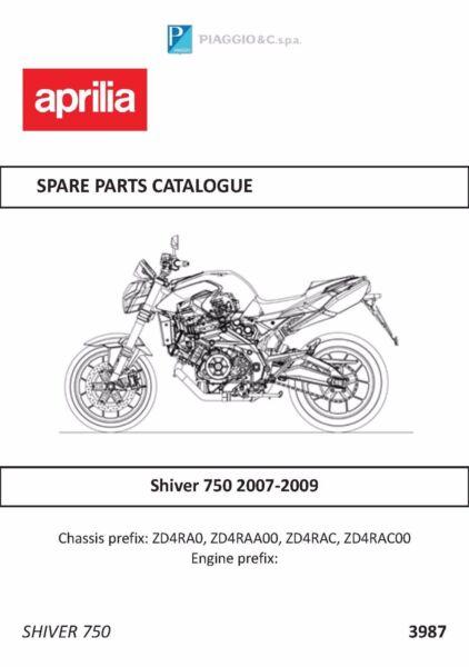 aprilia parts manual