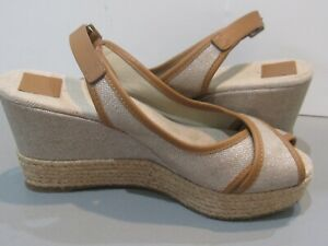 8a4d90202 Tory Burch Majorca Sandals Wedge Platform SZ US 8.5 Espadrilles ...