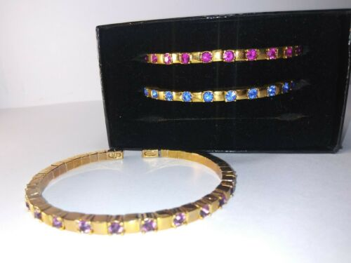Vintage Joan Rivers Classic Collection Jeweled Ban