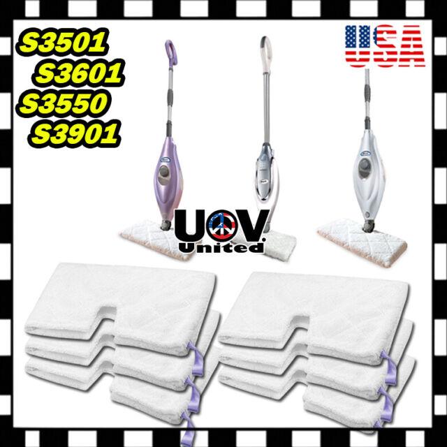 2 x Standard Compatible Pads for Shark Pocket Steam Mop S3550 S3501 S3601