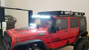 Details About Axial Scx10 Ii Upgrade Light Bar Led Jeep Wrangler Rubicon Body Rtr Kit Rc Crawl