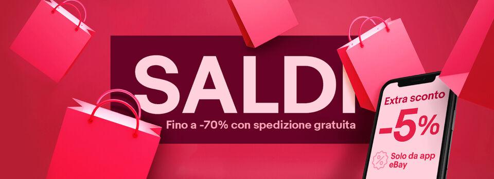Shopping - Saldi fino a -70%