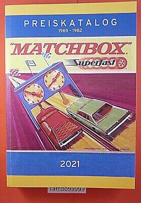 Matchbox Superfast Katalog 1969-1982 farbig bebildert über 500 Seiten