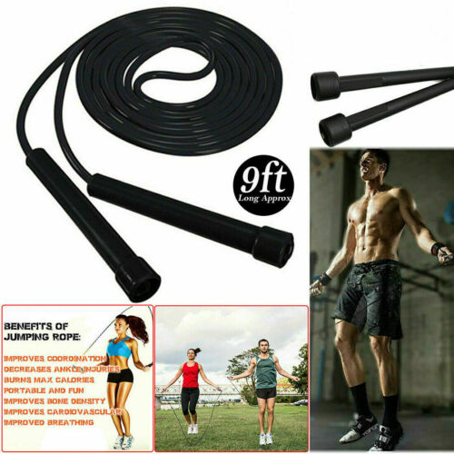 Skipping Rope Adjustable Boxing Jumping Weight Loss Exercise Fitness Speed Rope