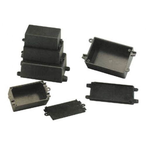 Container ABS Black For Electronics 37 x 64 For 25 MM Box IN Plastic G1013