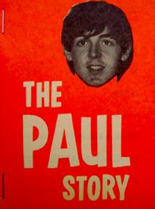Beatles 1964 Vintage Beatle-Ography Book The Paul Story Paul McCartney EX COA