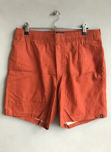 Quiksilver-VOLLEY-SHORT-Mens-Size-M-Casual-Shorts-Terracotta