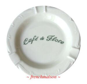 Cafe-de-Flore-Porcelain-ASHTRAY-Apilco-Souvenir-Paris-French-Apt-Gift-New