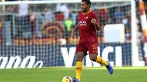 Juan-Jesus-Pantaloncino-n-21-As-Roma-Match-Worn-taglia-XL-indossato-in-gara