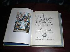 ALICE IN WONDERLAND  THROUGH THE LOOKING GLASS 1946  LEWIS CARROLL