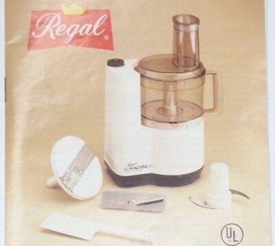 Details about  /Moulinex Regal La Machine 1 V 813 LM1 Food Processor Food Pusher Measuring Cup