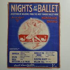 Assolo di pianoforte notti al balletto ARR Montague Ewing