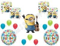 Stuart Despicable Me Minions Happy Birthday Party Balloons Decorations Supplies