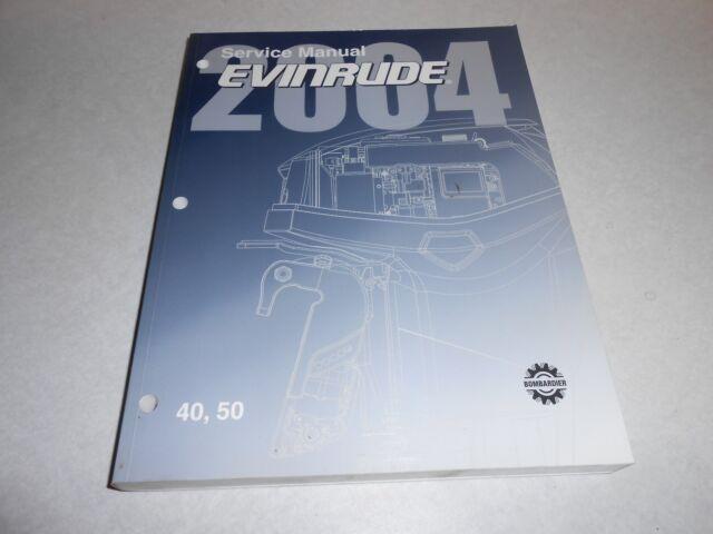 2004 40 Hp 50 Hp Genuine Brp Evinrude E