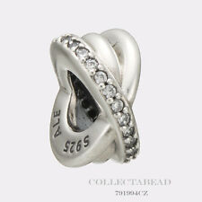 Authentic Pandora Sterling Silver Galaxy with Clear CZ Spacer 791994CZ