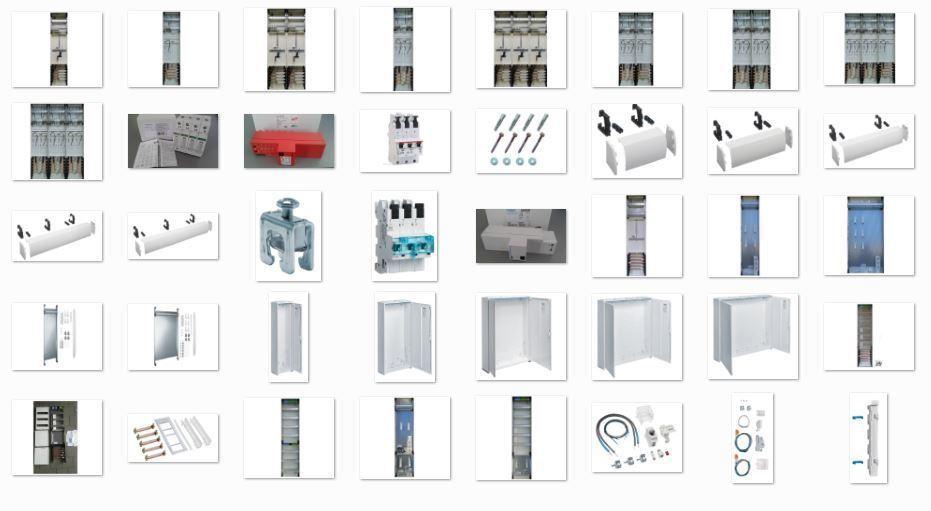 Zählerschränke konfigurieren 1-5 feldrig, Hager, ABB, SLS, Automaten, Schalter | Bekannt für seine hervorragende Qualität