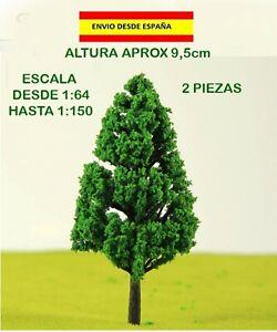 TRENES-2-ARBOLES-ARQUITECTOS-MODELISMO-VEGETACIoN-ESCALA-CASAS-DE-MUNECAS