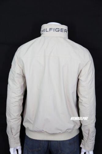 NWT TOMMY HILFIGER Men Water Resistant Jacket Windbreaker Coat with Hidden Hood