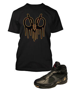 Tee-Shirt-To-match-Air-Jordan-8-OVO-Shoe-Men-Pro-Club-Graphic-Tee-Drake-Tribute