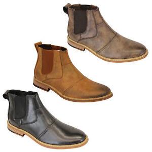 Chaussures Cavani Distributeur Pour Cheville Chelsea Neuf Hommes Bottes Hauteur fHqPHU