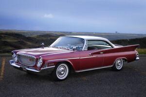 GORGEOUS 1961 Chrysler Windsor 2 dr. HT