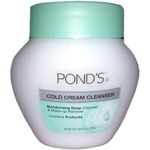 Ponds Pond 9.5-ounce Cold Cream Cleanser (Pack of 6) OLAY 4-in-1 Daily Facial Cloths, Normal Skin 33 ea (Pack of 2)