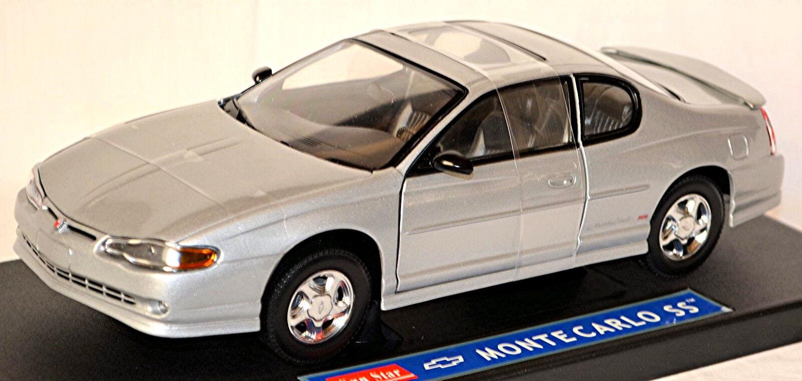Chevrolet Monte Carlo SS Coupé 1999-2005 argent argent métallique 1 18 Sun Star