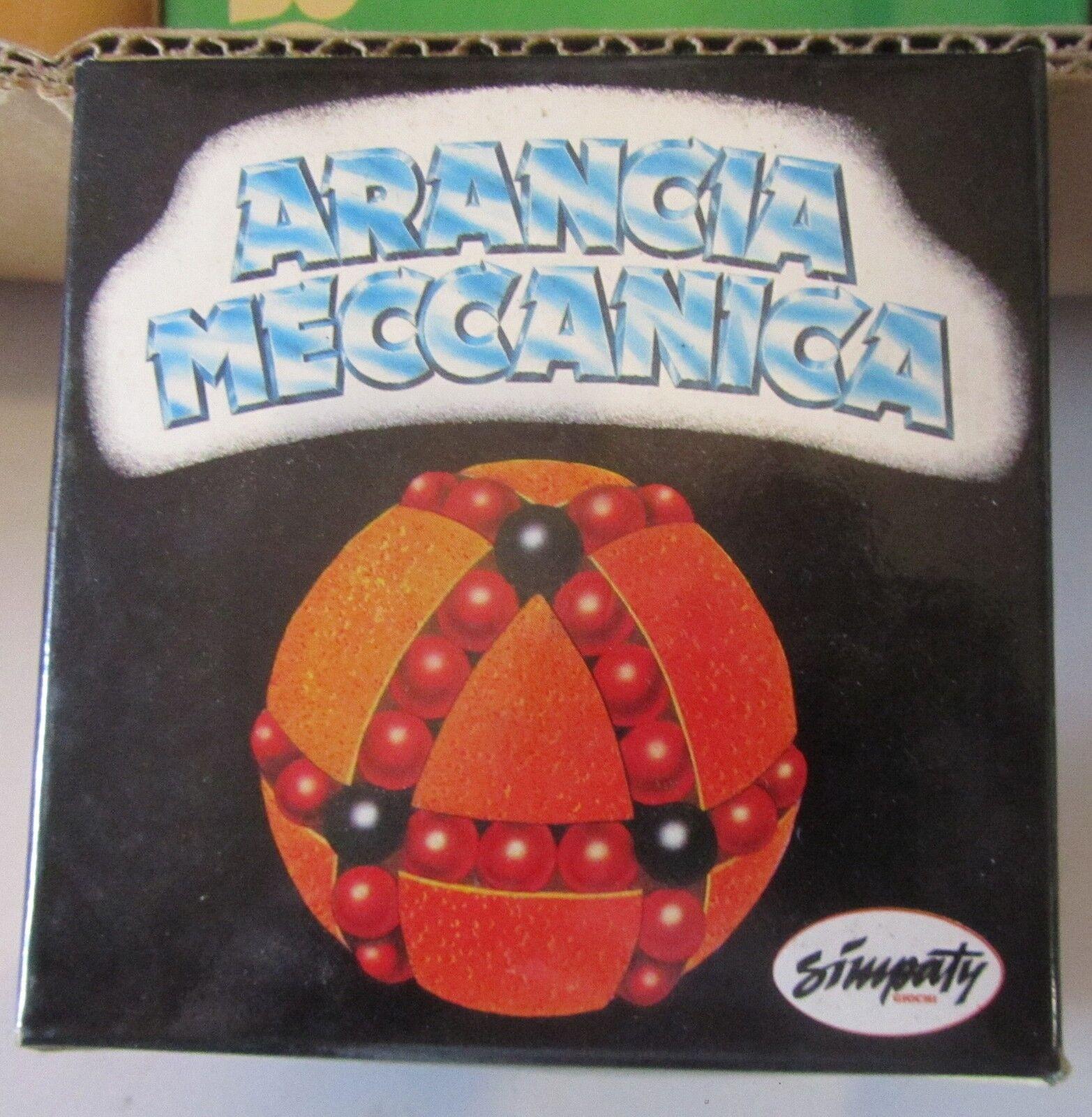 Rompecabezas  rompicapo naranja Meccanica simpaty, 1985.