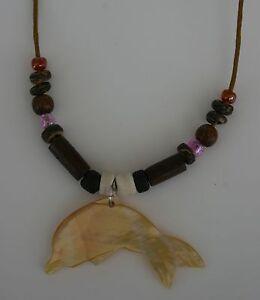 Offizielle Website Tribal Kette Delphin Muschel