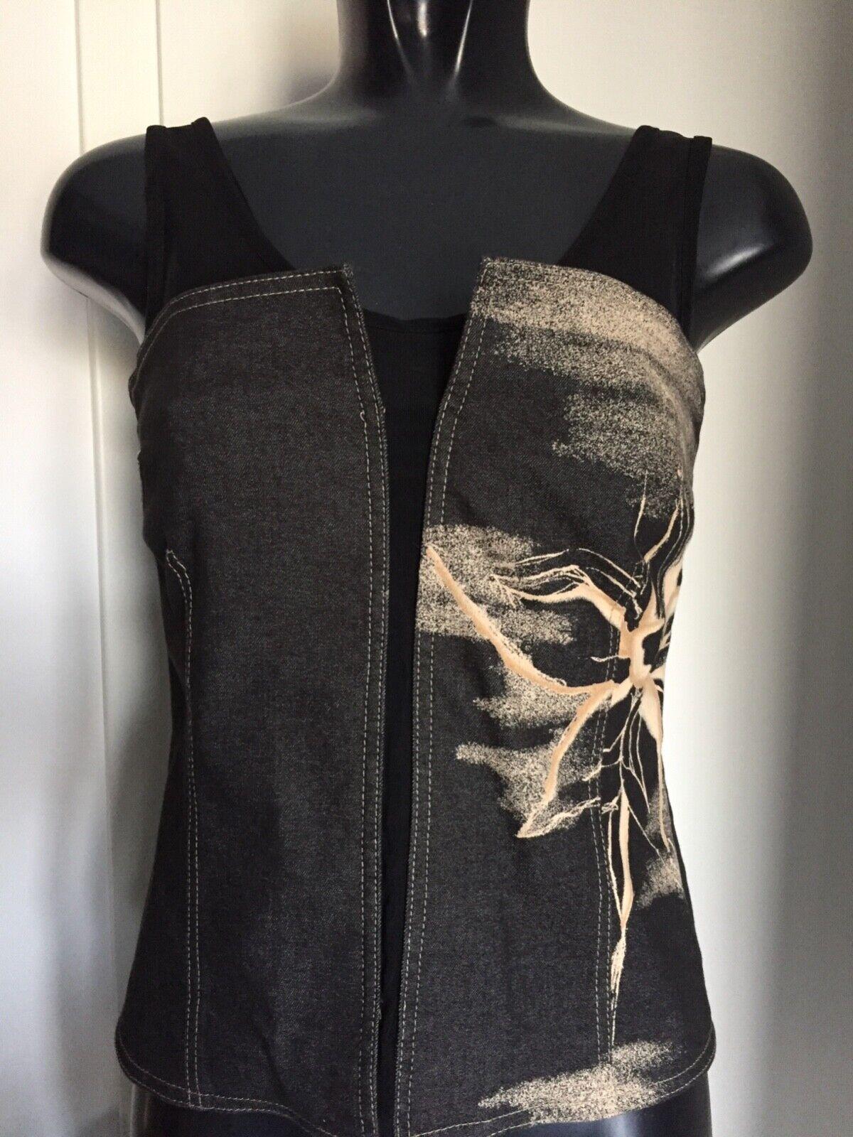 Top, Blause von schwarzy Dress Berlin d g 36 wie neu
