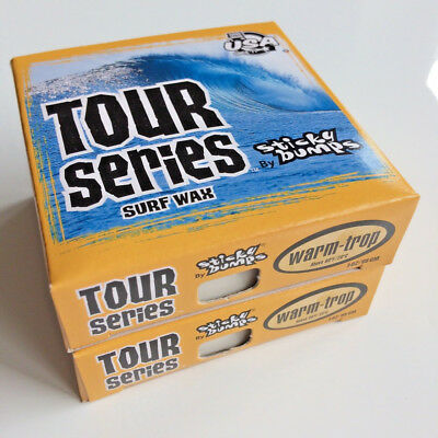 Sticky Bumps  Tour Series Warm Tropical Water Surf Wax