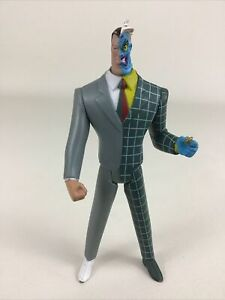 Batman Animated Series Two Face Action Figure DC Comics Poseable Villain Toy