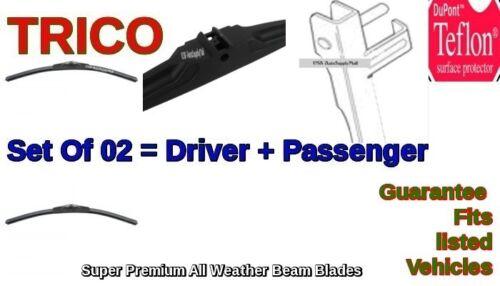 2x Trico Premium Wiper Beam Blades 2000-2014 MERCEDES-BENZ Set=02pc Left+Right