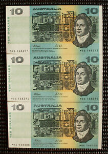 Australia-1991-Fraser-Cole-10-Banknote-With-039-G-039-PIL-039-s