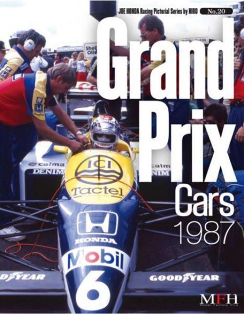 Mfh Book No20. Gran Premio Cars 1987 Joe Honda Racing Pictórica Serie By Hiro