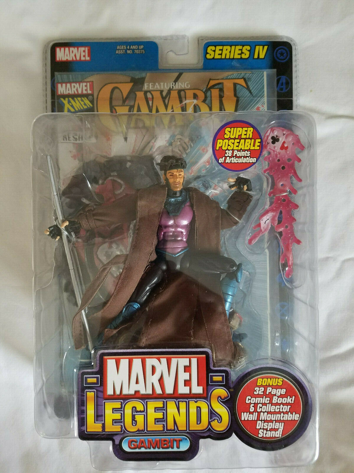 Marvel Legends Series IV Gambit