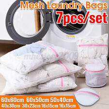 7Pcs Mesh Laundry Bags Wash Bag For Delicates With Premium Zipper Travel Storge