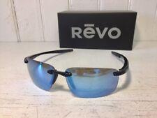 REVO Re4059 01 BL Descend N Black W/ Blue Water Polarized Lenses Sunglasses