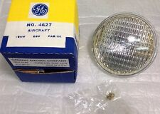 4627 GE 28V 100W Aircraft PAR36 Incandescent Sealed Beam Light Bulb