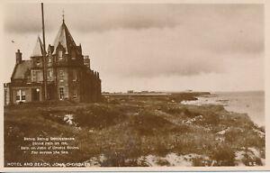 PC41994 Hotel and Beach. John O Groats. The Tea Rooms. B. Hopkins