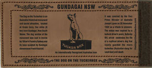 The Dog on the Tuckerbox Wrap Leather Stubby Holder