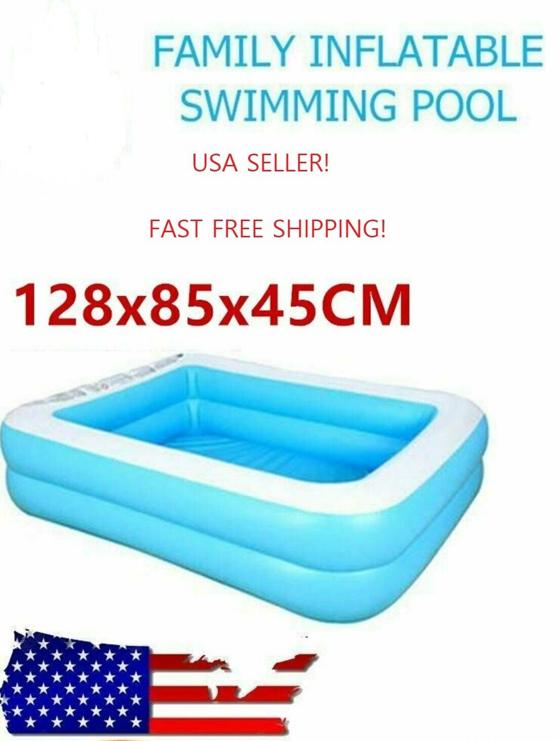 Jilong Kids Family Swimming Pool Outdoor Garden Summer Inflatable Paddling Pools