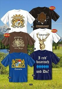 Fun-COLLECTION-Camiseta-Bayern-Bavaria-Oktoberfest-Emblema-Regalo-Estampado