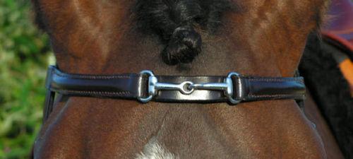 New Snaffle Design Browband Brow Band Newm  SNF14Tan