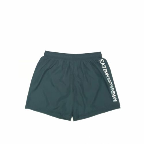 Black EA7 Swim Short Men