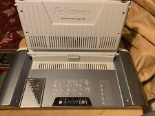 Fellowes Helios 30 Thermal Binding Machine Crc52193 Works