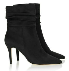 Lipsy London Ruched Black Pointed Toe
