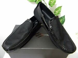 Joseph-Abboud-Black-Men-039-s-Loafer-Dress-Shoes-Size-US-12-EU-45-NEW