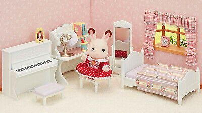 Sylvanian Families Calico Critters Girls Bedroom Furniture ...